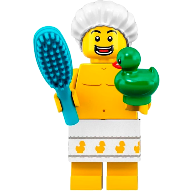 Lego en la ducha
