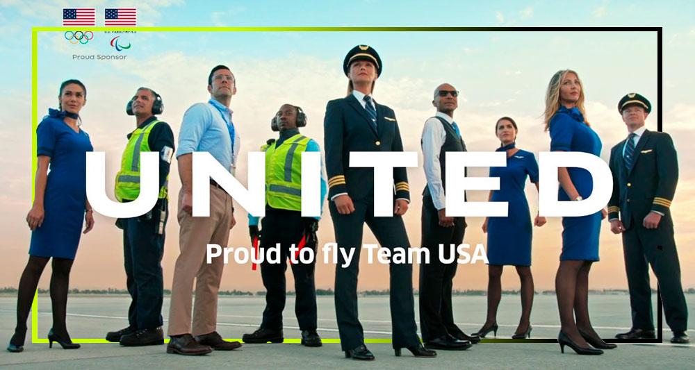 Anuncio de United Airlines para los JJOO de Río