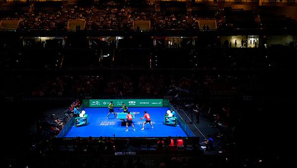 Test olímpico de tenis de mesa en Tokyo