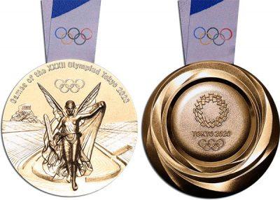 Medalla olímpica de los JJOO de Tokyo