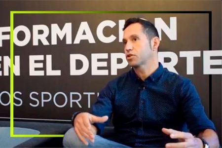 Ricard Perez durante una entrevista